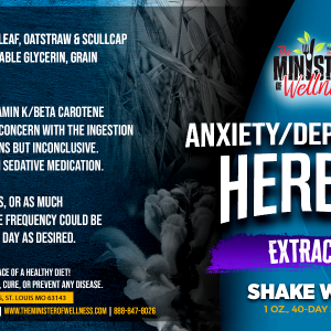The Minister Of Wellness Herbal Extracts